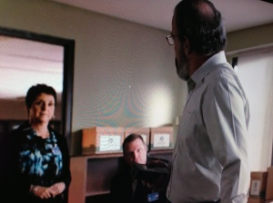 My first screen time shot.  Homeland!